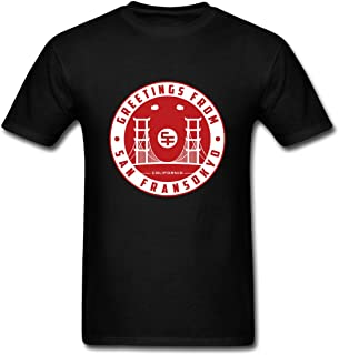 Hillet Men's Greetings from San Fransokyo Cotton Graphic T-Shirt