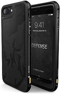 Capa para Iphone 7 Iphone 8 X-Doria Defense Lux Camuflado Preto Original Anti Impacto Proteção Anti Queda Teste Militar [Capinha Iphone] [Capinha Anti Choque] [Capinha Apple] [Preto] [Alumínio Usinado] [Teste Militar] [X-Doria], X-Doria, XD51-01, Preto