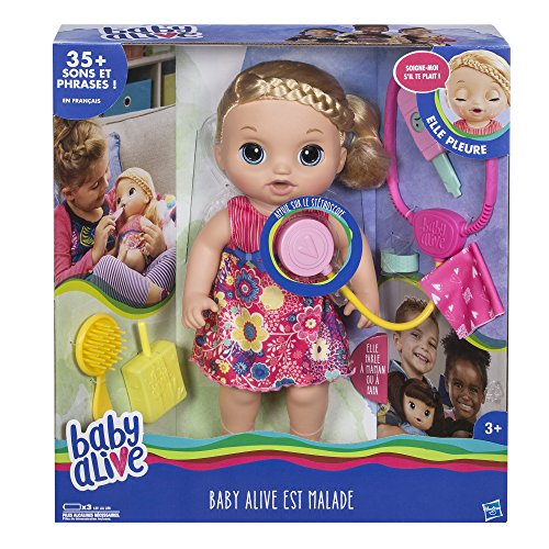 Baby Alive–c09571010–ist krank–Blonde