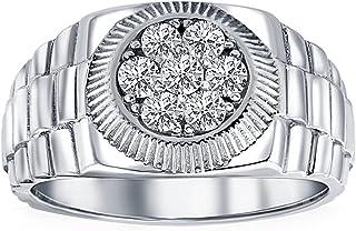 Men's 3/4 Ct T.W. Diamond Ring 14k White Gold