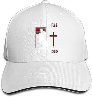 5e49bc6fe8f25 Basicap Unisex Adjustable Baseball Hat Stand For The Flag Kneel For The  Cross Cap