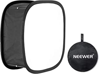 Neewer Collapsible Softbox Diffuser for 480 LED Panel - Outer 16x6.7 inches, Inner 5.6x5.6 inches, with Strap Attachment a...