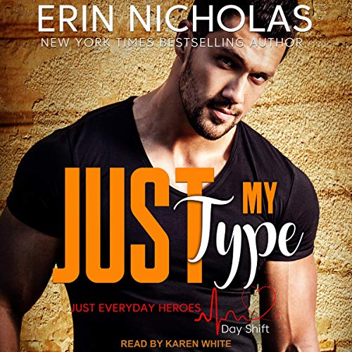 Just My Type audiobook cover art