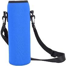 con Correa Ajustable para el Hombro por MEK 32 oz//1-1,5 l Made Easy Kit Funda de Neopreno para Botella de Agua Bolsa de Transporte aislada para Botella de Agua Verde Azulado y patr/ón, 1 Paquete