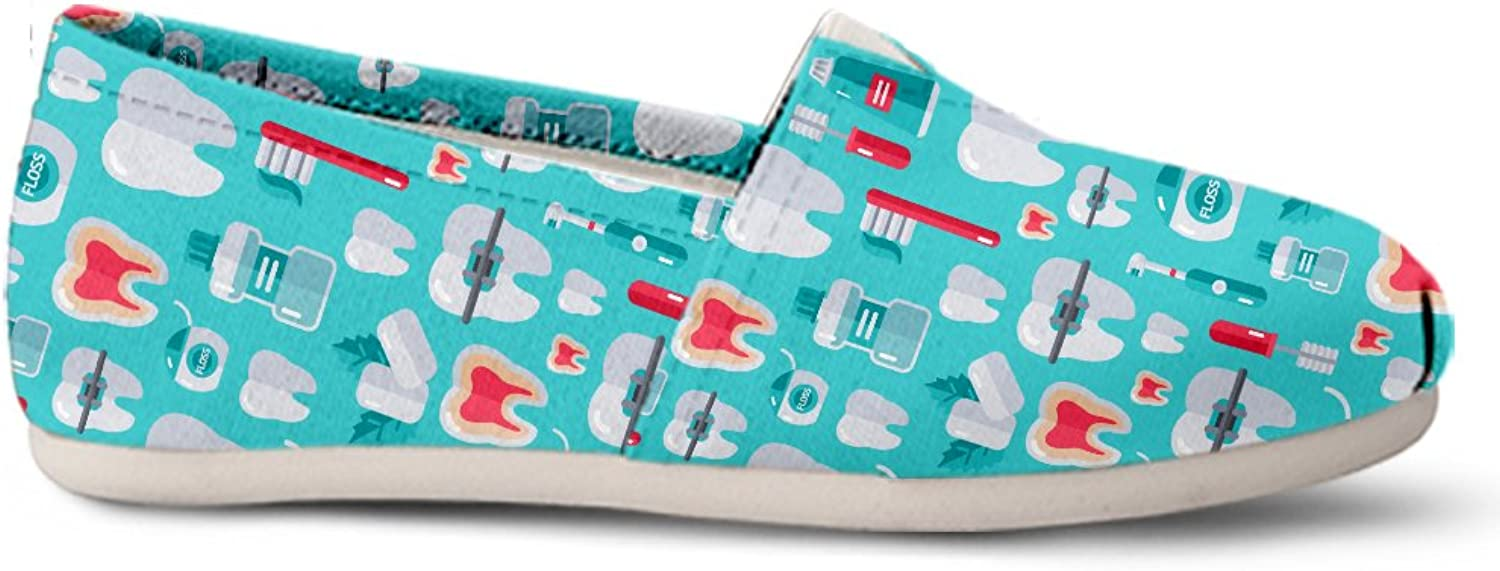 Gnarly Tees Dentist Pattern Casual shoes