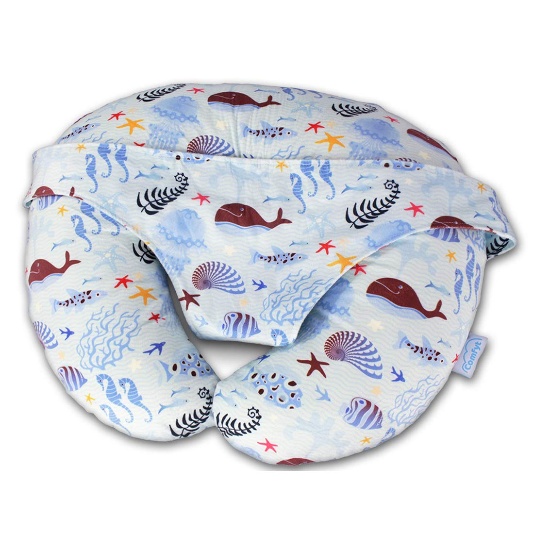Nursing Pillow Multifunctional Baby Lounger Supporting Baby Best Breastfeeding Pillow and Positioner for Mom's Baby Pillow by Comfyt Nursing Pillow
