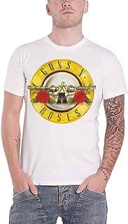 Guns N Roses T Shirt Classic Pistols Band Logo 新しい 公式 メンズ