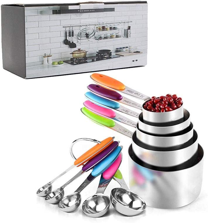 Measuring cups price and spoons set Measuring Cup Spoons outlet 10pcs