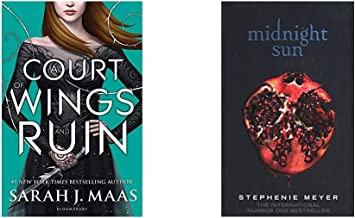 A Court of Wings and Ruin (A Court of Thorns and Roses)+Midnight Sun(Set of 2 books)