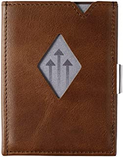 Multiwallet w/Stainless Steel Locking Clip and coin pocket