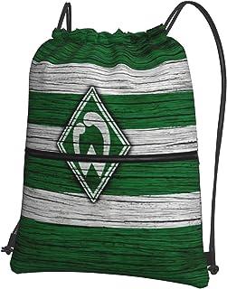 Werd-Er Brem-En Bedruckte Sporttasche Sporttasche Reisetasche Schuhtasche Rucksack Einkaufstasche Kordelzug ReiVerschluss Rucksack