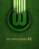 Nalana Poster Wolfsburg Football UH-444 Bar Living Room