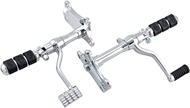 Forward Controls Kit Pegs Levers Linkage Compatible with Harley Sportster XL 883 1991-2003