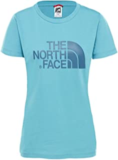 The North Face Women's S/S Easy Tee Tees And T-Shirts, Blue (Storm Blue 4Y3), X-Small
