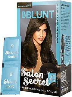 BBLUNT Salon Secret High Shine Crème Hair Colour, Natural Brown 4.31,40g