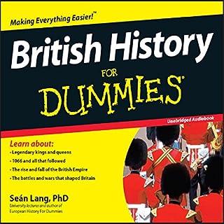 British History for Dummies Titelbild