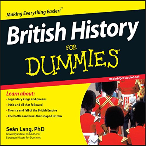 British History for Dummies cover art