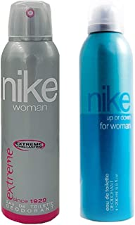 Nike Deodorant Combo Of 2 (Extreme+Up Or Down) For Women (Edt)