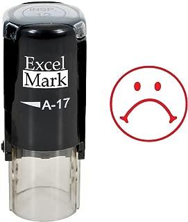 sad face stamp