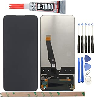 """HYYT Replacement for Huawei P Smart Z Y9 Prime STK-L21 STK-L22 STK-LX3 2019 6.59"""" LCD Display Touch Screen Digitizer Assembly With A Set of Tools(Black)"""