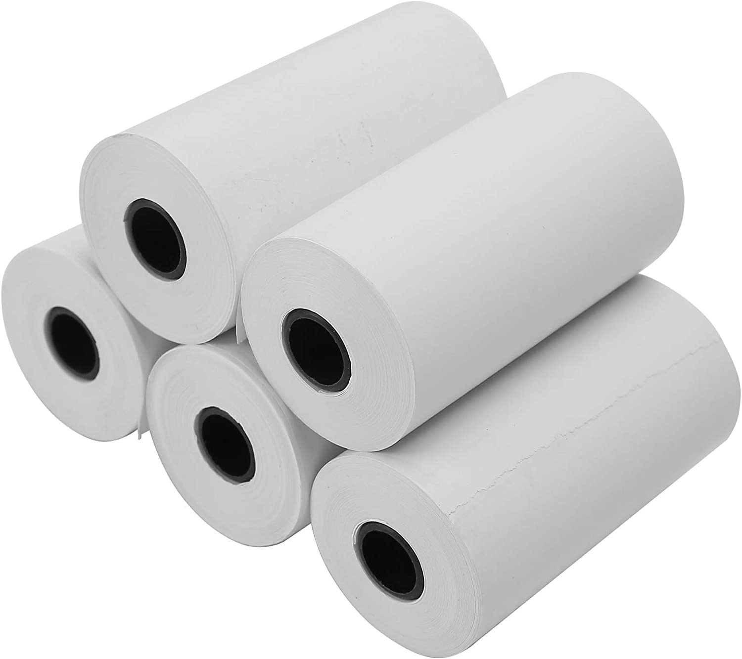 Agatige Seasonal Wrap Introduction 5 Rolls Thermal Receipt Paper Office Manufacturer OFFicial shop S Machine Roll for