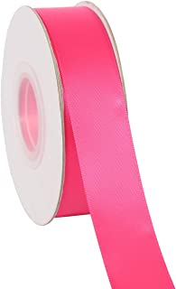 """Ribbonitlux 1"""" Wide Double Face Satin Ribbon 25 Yards (176-Fuchsia), Set for Gift Wrapping, Party Decor, Sewing Applications, Wedding and Craft"""