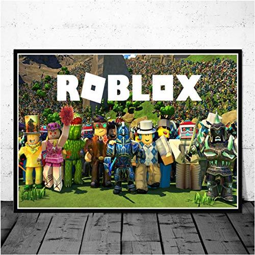 ROBLOX Art Silk Poster 8x12inch