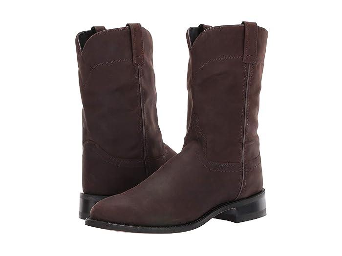 60s Mens Shoes | 70s Mens shoes – Platforms, Boots Old West Boots Joseph Brown Distress Cowboy Boots $74.95 AT vintagedancer.com