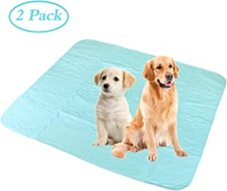 """Washable Pee Pads for Dogs,Machine Washable Waterproof Puppy Training Pad,Fast Absorbing Reusable Large Dog Pee Pad (2 Pack,36""""x41"""")"""