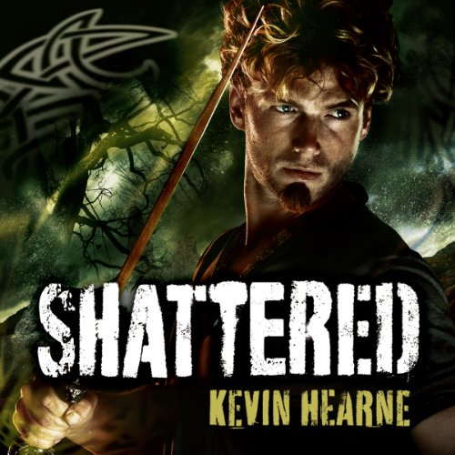 Shattered audiobook cover art