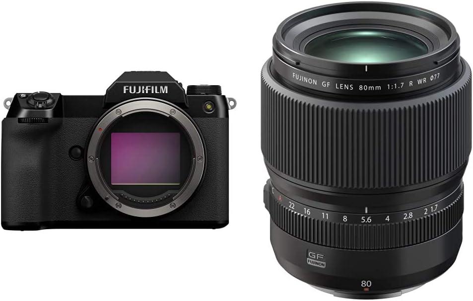 Al sold out. Fujifilm GFX 100S Body - Black Max 42% OFF Fujinon + WR GF80mmF1.7 R