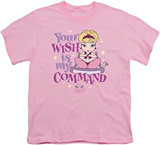 I Dream of Jeannie Your Wish is My Command Unisex Youth T Shirt for Boys and Girls