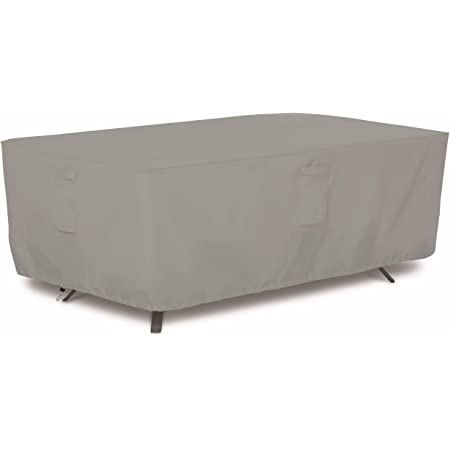 Classic Accessories Veranda Water Resistant 72 Inch Rectangular Oval Patio Table Cover Garden Outdoor