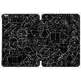 SDH Étui intelligent pour iPad Pro 12,9' 2020 4ème génération, coque de protection en cuir avec...