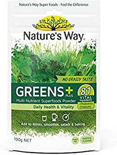 Nature's Way Super Foods Greens Plus,100g