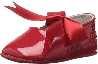 Ralph Lauren 婴儿全套婴儿布莱红色格子芭蕾平底鞋