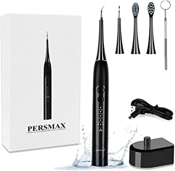 Persmax Dental Plaque Sonic Electric Tooth Cleaner