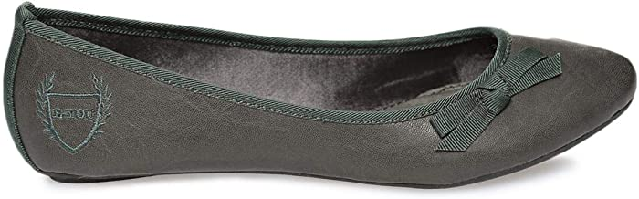 E-You Grey Ballerina For Women