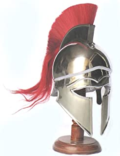 spartan helmet with red plume