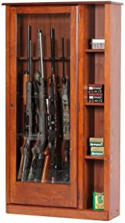 hardwood gun cabinet