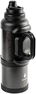 Titan 1 Gal. Onyx Stainless Steel Vacuum Insulated Jug, Black