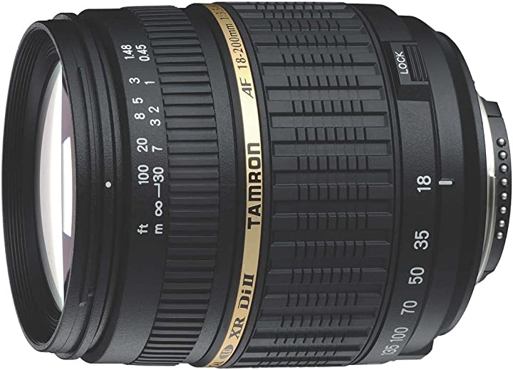 Obiettivo tamron a14 18-200mm f/3.5-6.3 di ii sony A14S