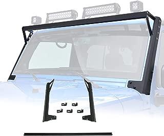 EAG Steel Roof Mounting Brackets for LED Lights Fit 07-18 Jeep Wrangler JK
