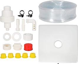 Foutain de plástico para Piscina, Foutain de Cascada subterráneo con Base, Equipo de decoración de Agua para Piscina