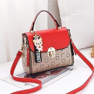 LIMING Autumn and winter small bags women's bags fashion girls handbags wild tide shoulder messenger bag,Colour:Alphabet p...