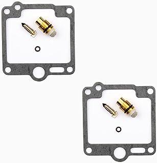 2x Kit Recompatible paración Carburador Aguja del flotador compatible para Yamaha XV 1100 Virago