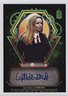 Lalla Ward #45/50 (Trading Card) 2016 Topps Dr. Who Extraterrestrial Encounters - Autographs - Green #LAWA