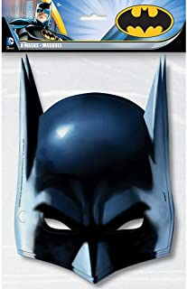 Batman Pinata, Pull String Party Masks One Size Multi Colored
