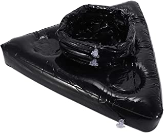 Uniquk Chapeau Gonflable de BièRe Pong Floating Pong Jeu pour la Piscine Partie Fournitures Plage Jouets Gonflables pour E...