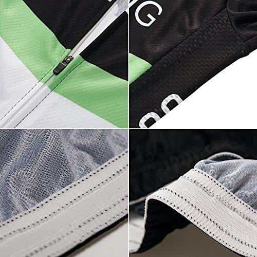 logas Pro Radtrikot Short Sleeve Fahrrad Quick Dry Bib Shorts Breathrei Bike Shirts - 4